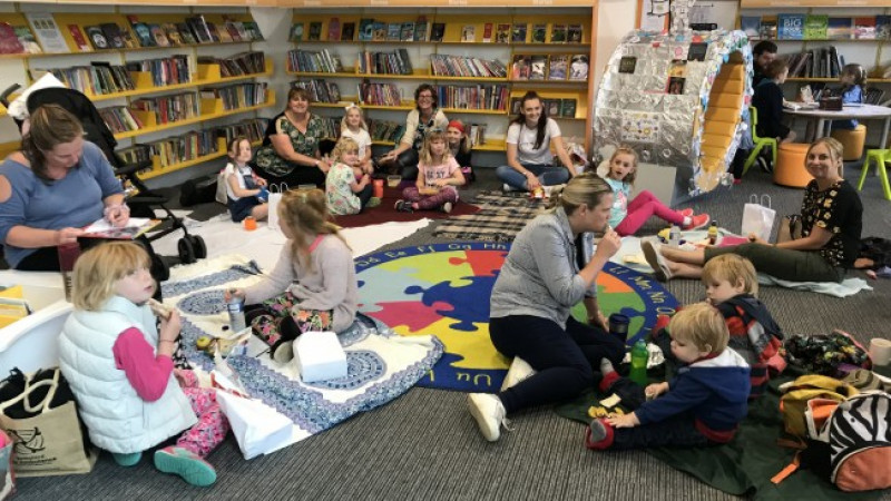 'Lunch in the Library' proves a huge success in Calne