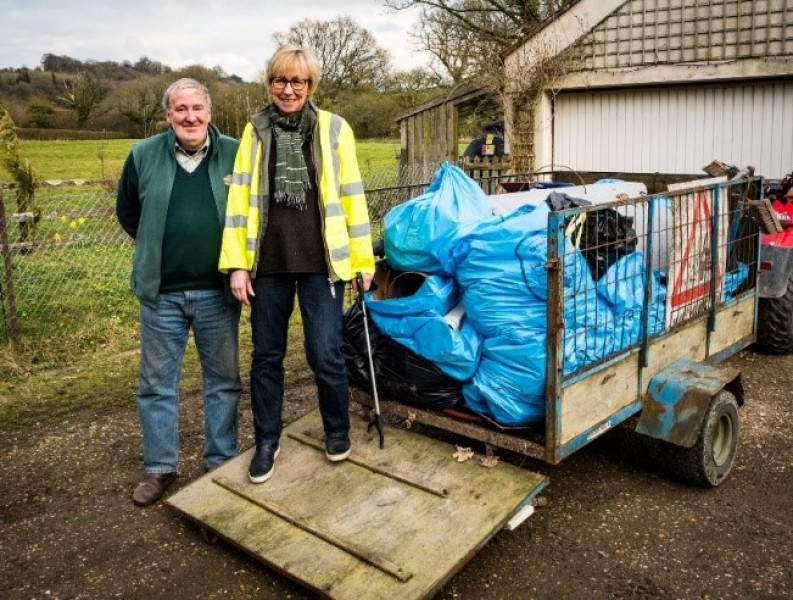 Conservative Wiltshire Council and the Great British Spring Clean