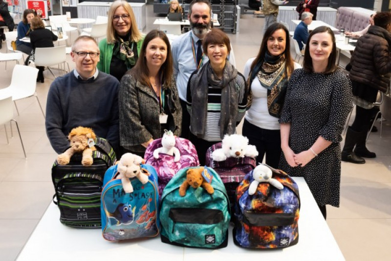 Bags of generosity for Wiltshire children and young people in care