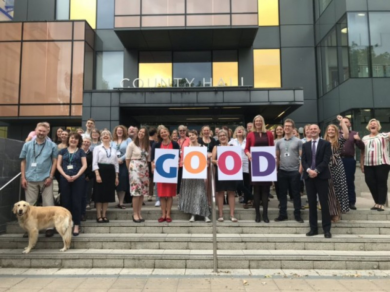 Conservative led Wiltshire Council achieves Good rating for work with children and families
