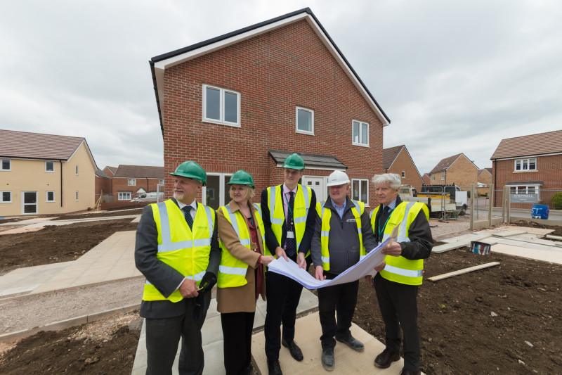 Conservative Wiltshire Council completes Ideal Homes in Trowbridge