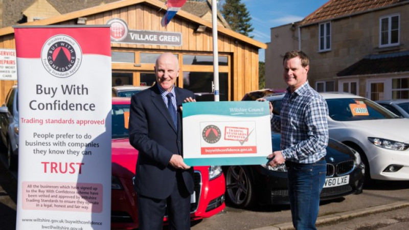 Conservative Wiltshire Council safeguards consumers and endorses businesses