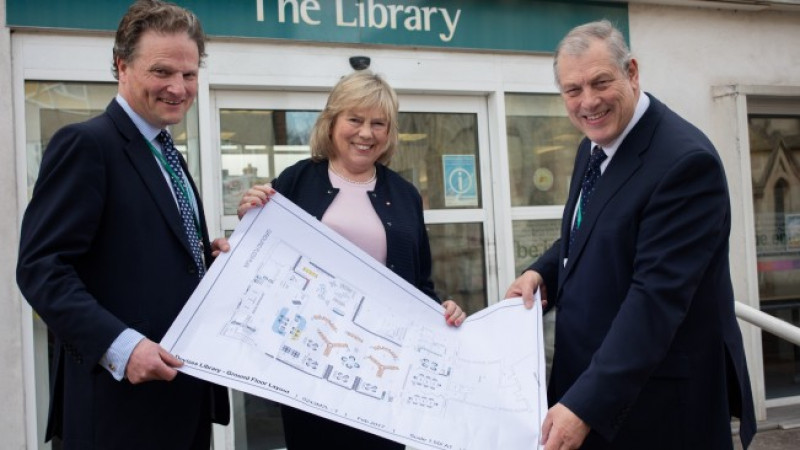 Devizes library to become a new community hub