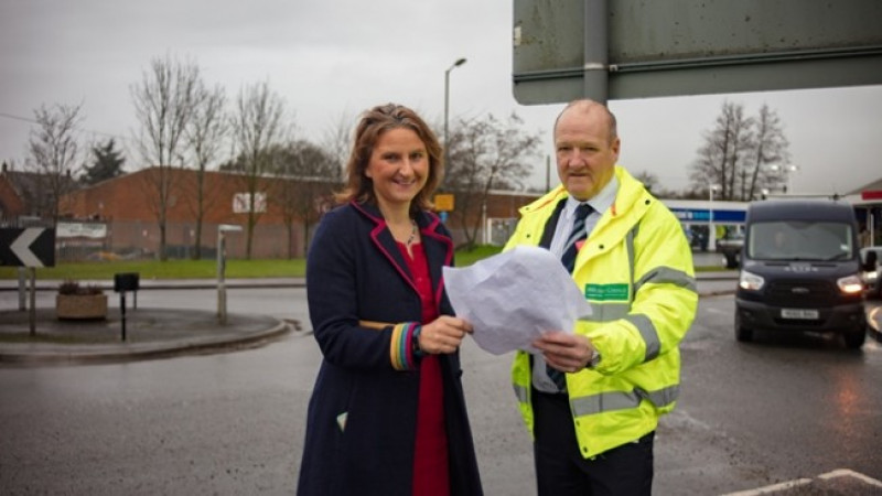 Green light for improvement scheme to improve air quality at busy junction