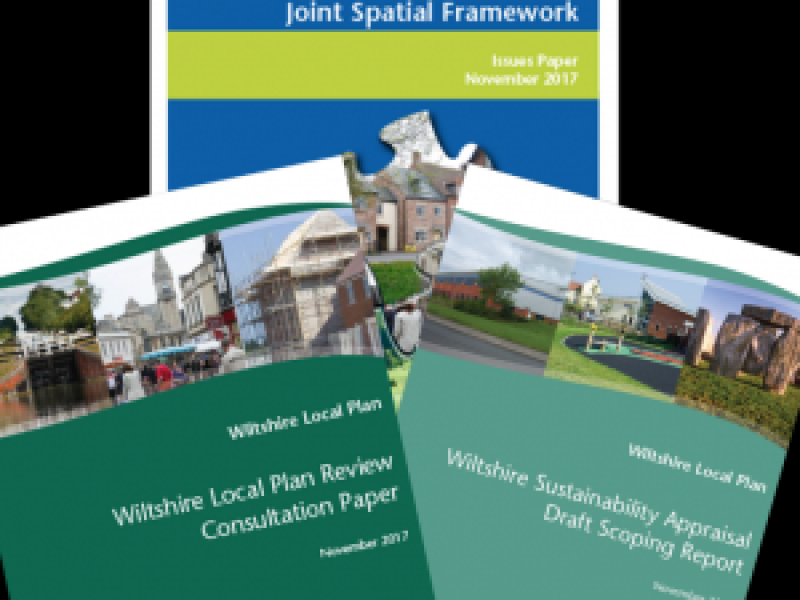 Help shape Wiltshire's plans to 2036 : Wiltshire Local Plan Review