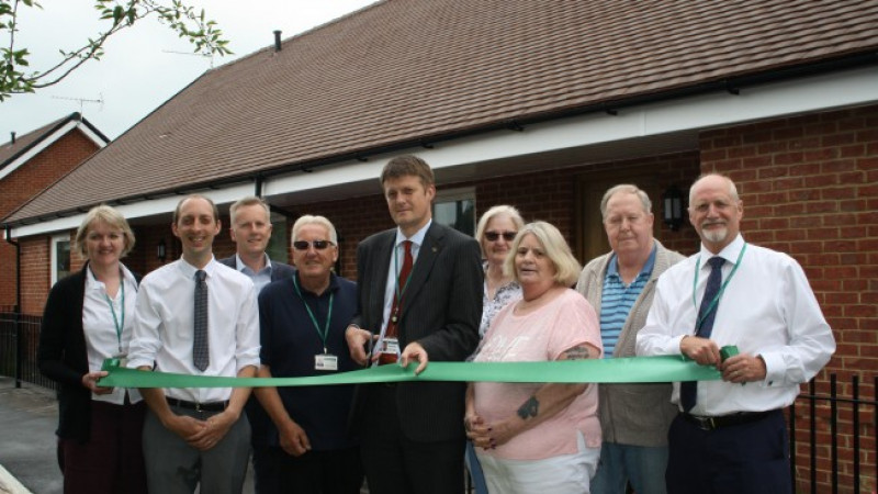 New rural homes for older residents officially opened
