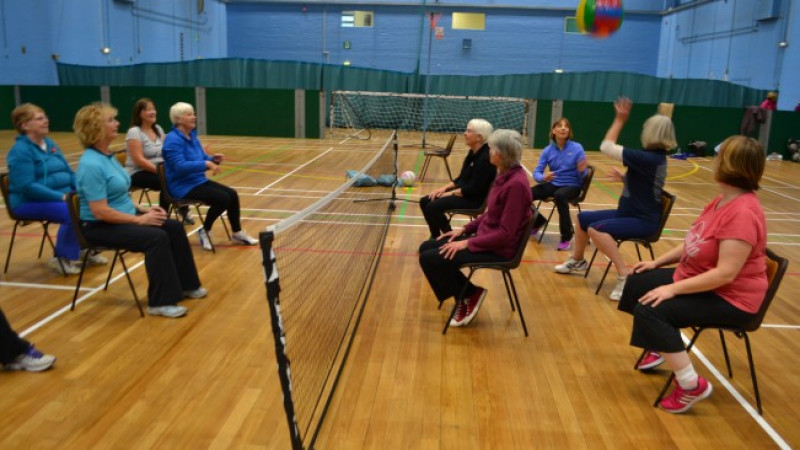 New seated sports programme starts in Royal Wootton Bassett