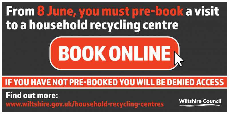 Online booking system for household recycling centres