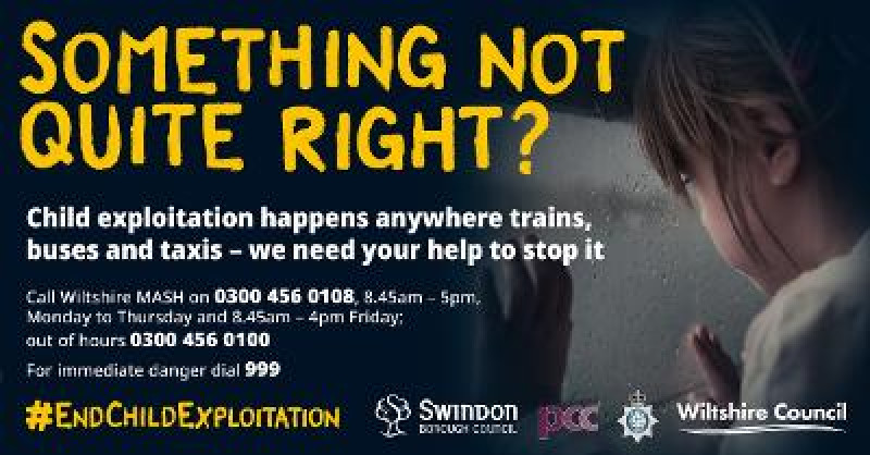 Partners join forces to step up awareness of child exploitation on public transport