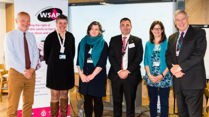 Partners working together to safeguard adults