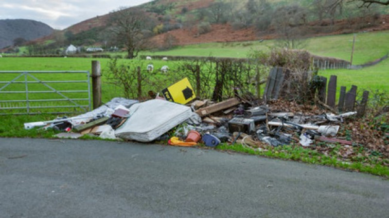 Partners working together to target fly-tippers in Wiltshire