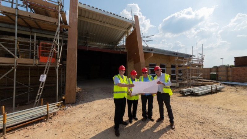 Pewsey Vale Community Campus on course for autumn opening