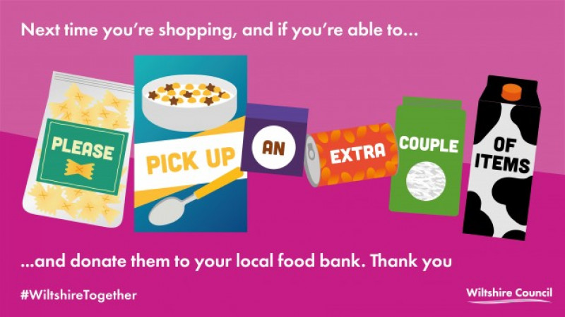 Support your local food bank