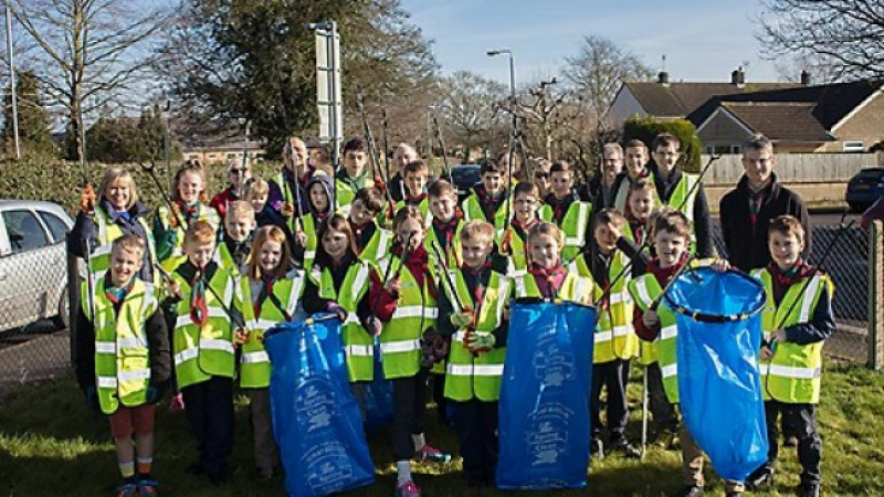 Thousands of Wiltshire volunteers join the Great British Spring Clean