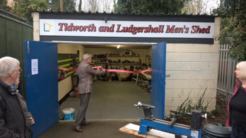 Tidworth & Ludgershall Men's Shed opens