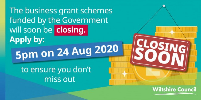 Vital business grants funding closes soon