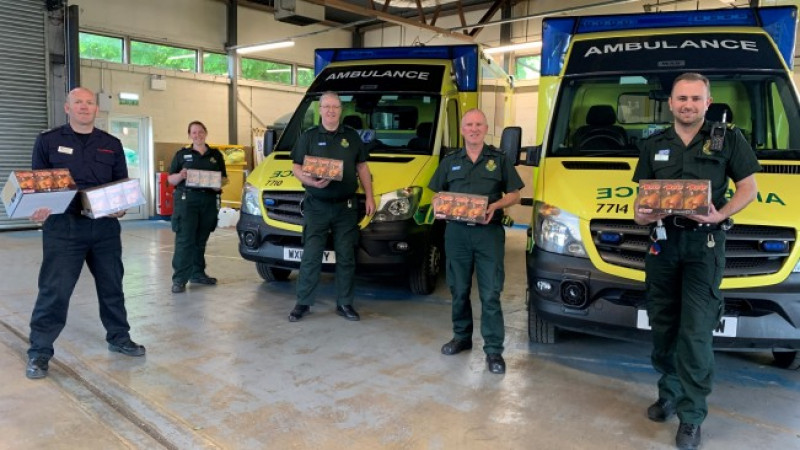 Wiltshire Council welcomes eggs-cellent donation