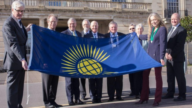 Wiltshire flies the flag for the Commonwealth