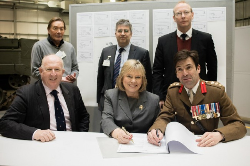 Wiltshire pledges commitment to working together with its Armed Forces at covenant signing
