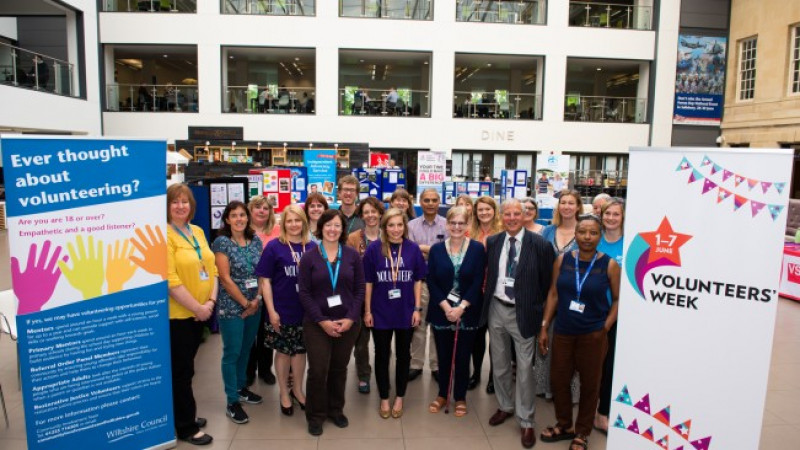 Wiltshire thanks volunteers for making a difference