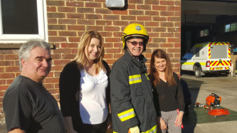 I had a great time participating in the successful Ludgershall Fire Station open evening!