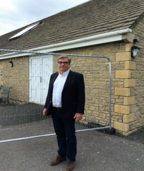 As part of the Area Board, Chuck approved funding for improvements of the Crudwell Village Hall.