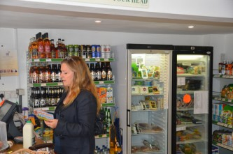 Avebury village shop