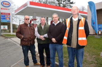 Mark campaigning for fair petrol prices