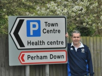 Mark promotes the Town Centre
