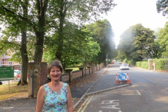 Mary secured funding to help South Wilts pupils cross the road more safely.