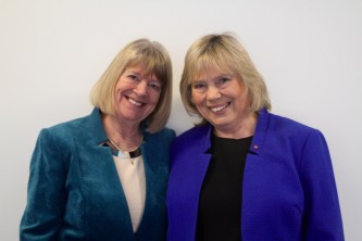 Sue Evans & Jane Scott